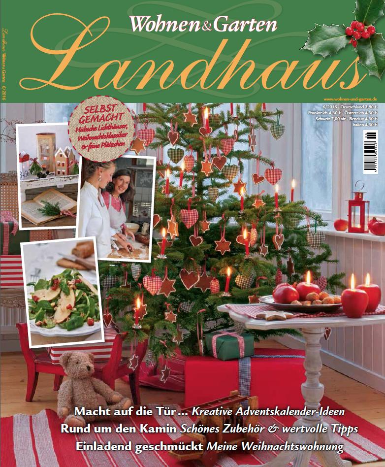 wohnen und garten landhaus weihnachten – igelscout, Garten und bauen